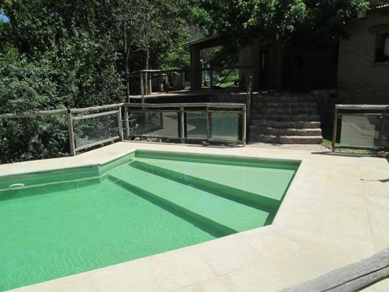 Casa Sierras Cordoba Pileta Rio 3200m2 Exclusivo 11/13 Pers