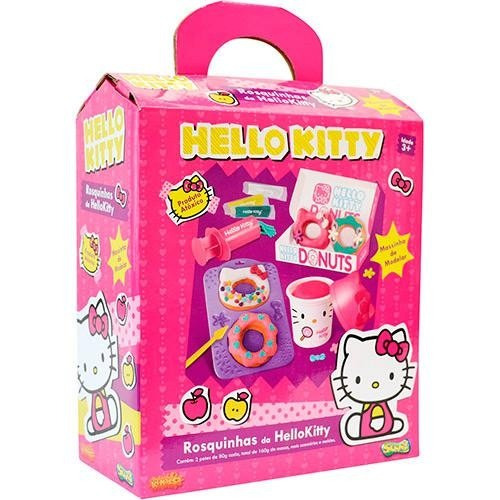 Hello Kitty Massinha Donuts Rosquinhas Sunny