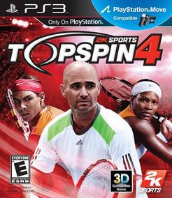 Top Spin 4 Topspin 4 Playstation 3 Artgames