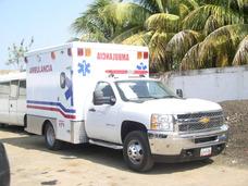 Alquiler De Ambulancias Tipo 2. Montada En Camiones Año 2013