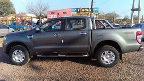 Ford Ranger Xlt 4x4 At, No Toyota, Con Usado Y Financiacion!