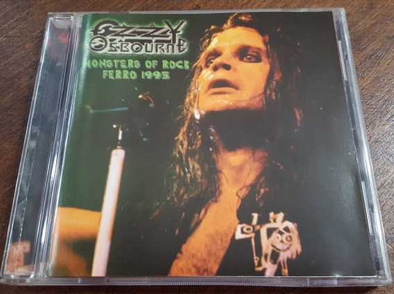 Ozzy Osbourne - Monsters Of Rock Ferro 95 Cd Black Sabbath