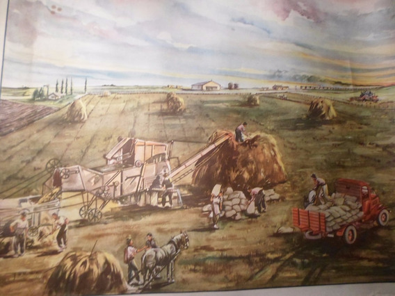 Poster Antiguo Caja Nacional De Ahorro Postal Nº 20
