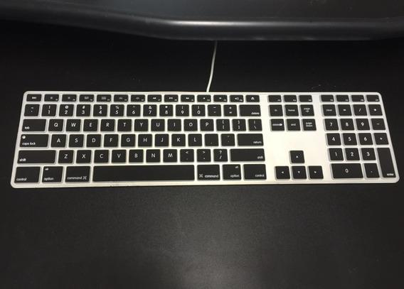 Capa Silicone Teclado iMac - Mac Mini - Preto - A1243