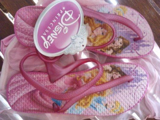 Ojotas Disney Princesas Originales -de Licencia-