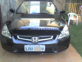 Honda Accord 2003 Preto 2.4 16v