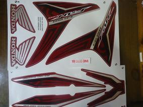 Adesivo Faixa Cg 150 Fan Esdi 13 Vermelha Edição Especial
