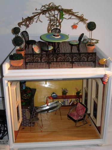 Espectacular Casa De Muñecas American Girl Minis Exc Estado