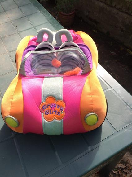 Auto De Muñecas Groovy Girls Con Baúl Que Se Abre Usado