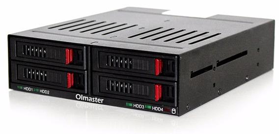 Case Olmaster 4x Hd Western Digital Ssd Samsung Sata Baia Cd
