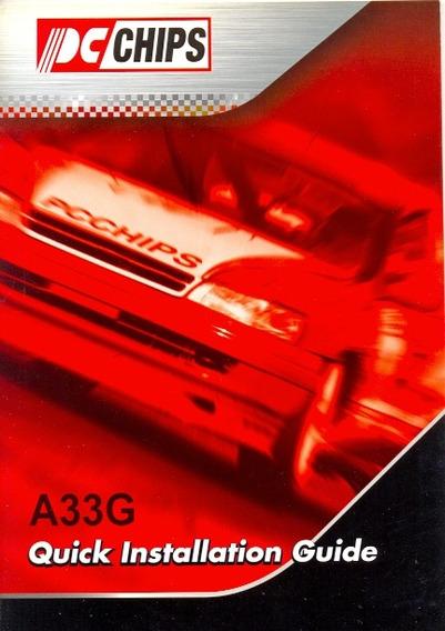 Manual Original Placa Mae Pcchips A33g