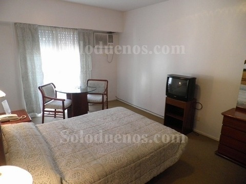 Apartamento Amoblado Alquiler Mensual Recoleta C/ Wi-fi