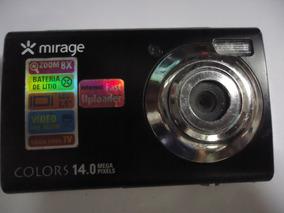 Câmera Mirage Colors - Não Vai Bateria E Carregador