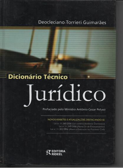 Dicionário Técnico Judiciário - Deocleciano Torrieri Guimarã