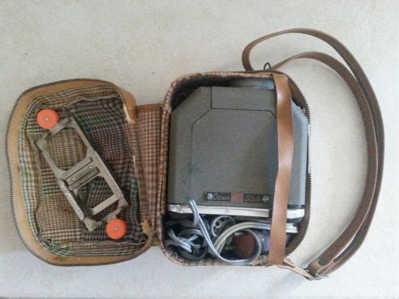 Antigo Projetor 35mm Na Bolsa Original