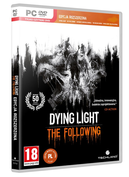 Dying Light The Following Enhanced Edition Pc Dvd Frete 8 R$
