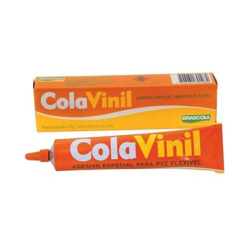 Cola Vinil Pvc Flexível 75 G Brascola
