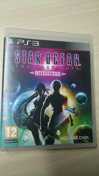 Star Ocean The Last Hope Internacional Mídia Física.