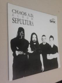 Livro Sepultura - Chaos Ad (em-forma-de-compacto) Sesc