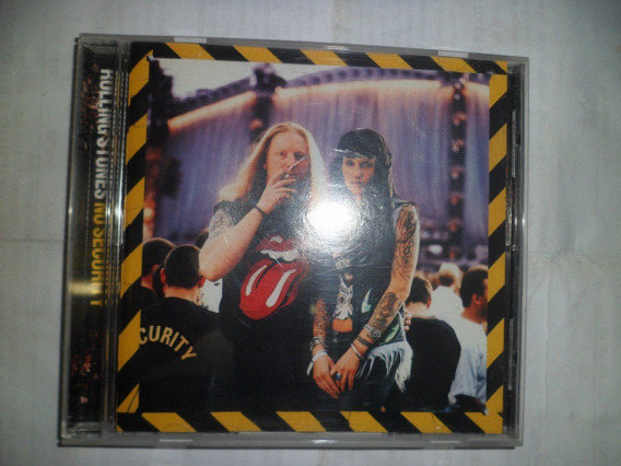 Cd Nacional - The Rolling Stones - No Security Frete 10,00