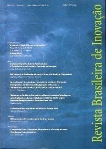 Revista Brasileira De Inovação - Vol. 3 - Nº 2