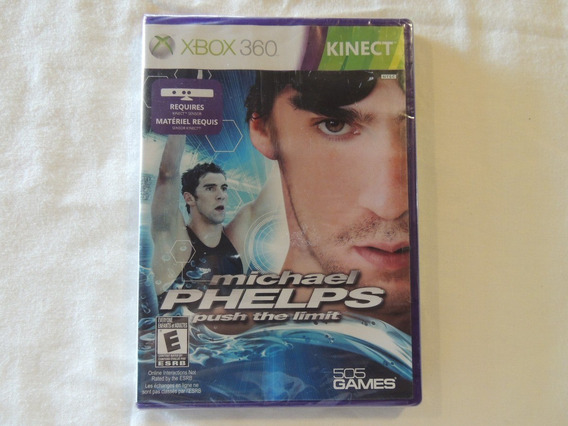 Jogo Michael Phelps - Push The Limit - Xbox 360 Kinect