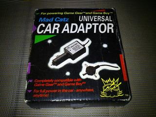 Sega Game Gear - Cargador Para Auto