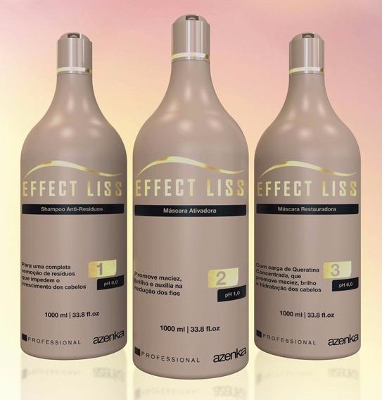Effect Liss Azenka - Progressiva Sem Formol (produto Novo)