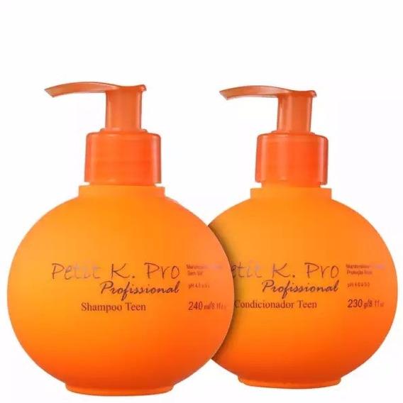 Kpro Petit Teen Shampoo 240ml + Condicionador 230g + Brinde