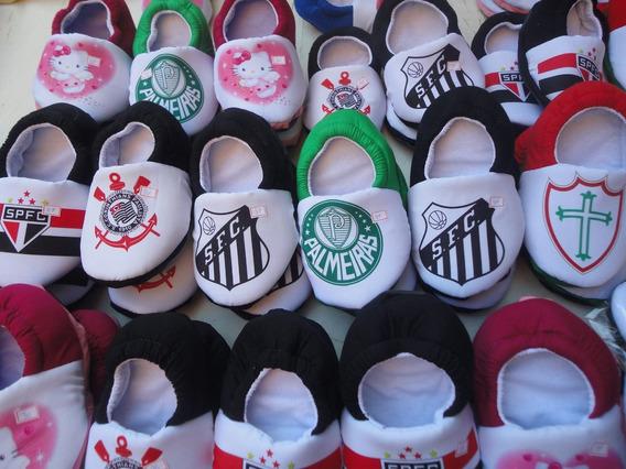 Pantufas Corinthians São Paulo Santos Palmeiras Gremio Times
