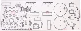 Placa Para Montar Amplificador De 150w