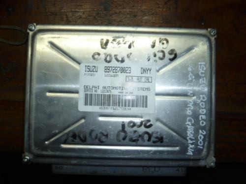 Vendo Computadora De Isuzu Rodeo Año 2001, 6 Cilindros Gas