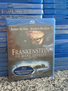 Bluray Frankenstein De Mary Shelley - Robert De Niro Lacrado