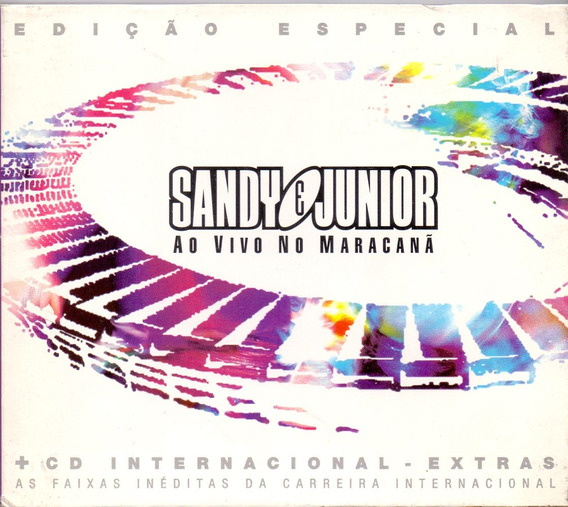Cd Duplo Sandy E Junior - Ao Vivo No Maracanã - Usado ***