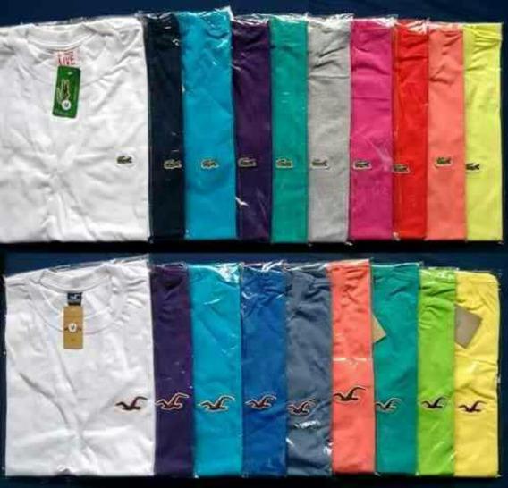 Kit 10 Camisetas Gola V Preço De Atacado