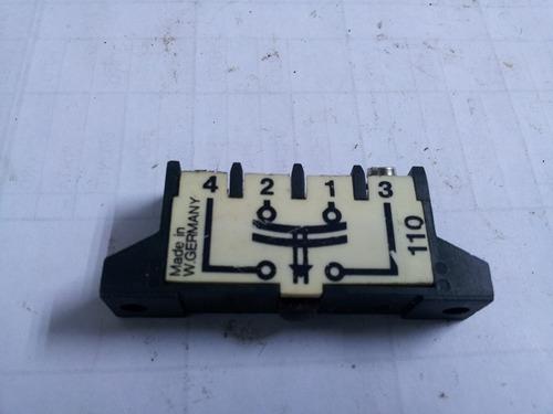 Micro Switch Tipo Pulsador Electrico Nc Y No 12950
