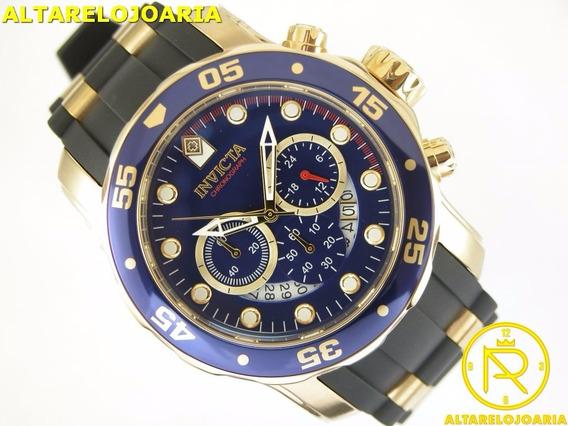 Relógio Invicta Pro Diver Pulseira De Borracha Ref 21929