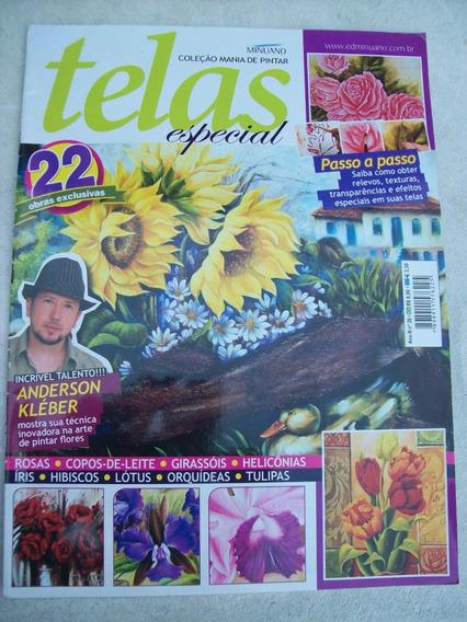 Revista: Telas Especial Nº 26: Anderson Kléber - Flores