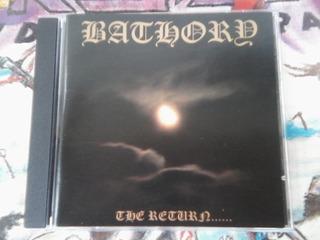 Bathory The Return Cd Imp.novo..