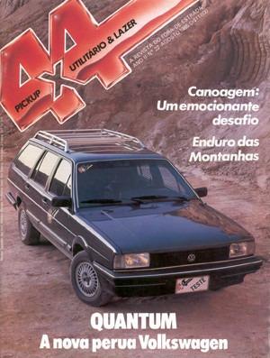 4x4&pickup.022 Ago85- Santana Quantum Studebaker Caravan