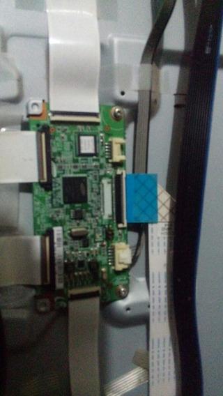 Placa T-con Samsung Pl50c450b1, Obs: Acompanha Os Cabos Flex