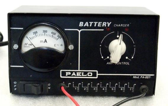 Carregador Ate 7 Baterias 6v