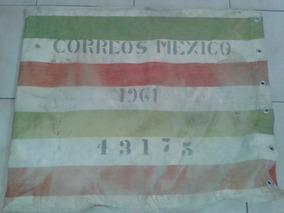 Saca De Tela Antiguo Para Correos (1961)