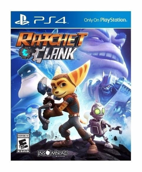 Jogo Ratchet & Clank Ps4 - Midia Fisica - Lacrado