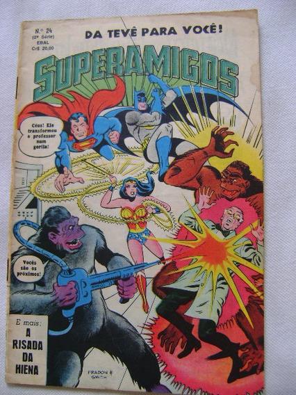 Superamigos No.24 Nov 80 Ebal Raro Leia Descrição!