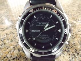 Relógio Technos Stainless Steel Cortezia Da Bosch #1539