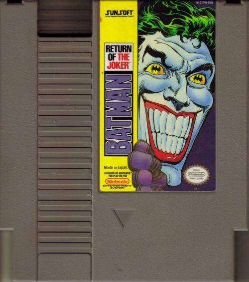 Batman Return Of The Joker - Nes