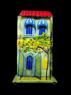 Lampara Decorativa Vidrio Cristal Francesa Clasica