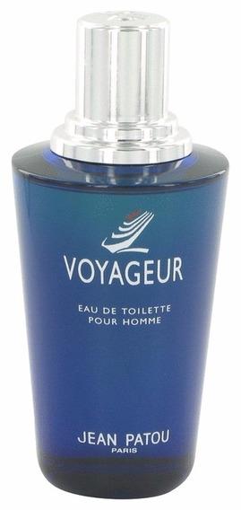 Perfume Jean Patou Voyageur Pour Homme 100ml Edt - Sem Caixa