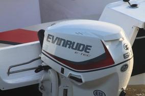 Motor Nautico Fuera De Borda Evinrude E-tec 60 Hp Nuevo 2017